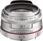 Объектив SMC Pentax HD DA 15 mm F4 AL Limited серебро
