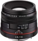 Объектив SMC Pentax HD DA 35 mm F2,8 Macro Limited черный