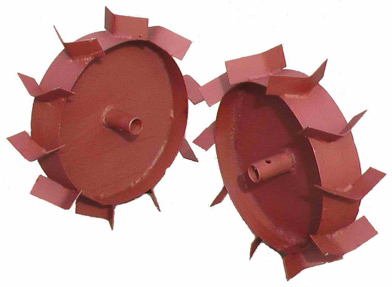 Железные колёса для мотоблока своими руками