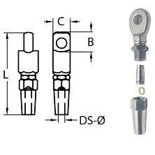 Диаметр зажима вала: 4мм диаметр вала под пропеллер: 45мм длина вала под пропеллер: 14мм вес: 4г