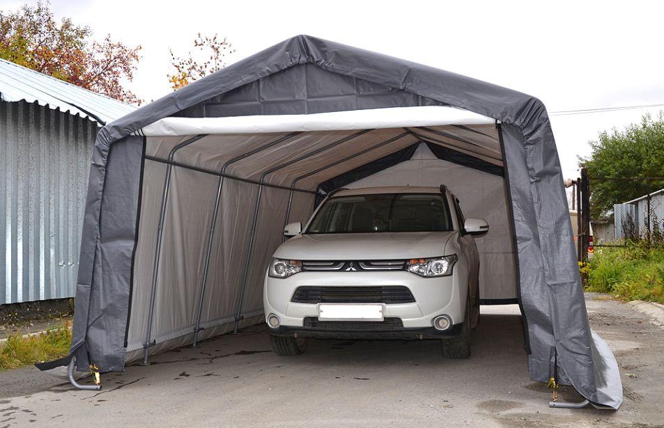 защитный каркасный тент для автомобиля