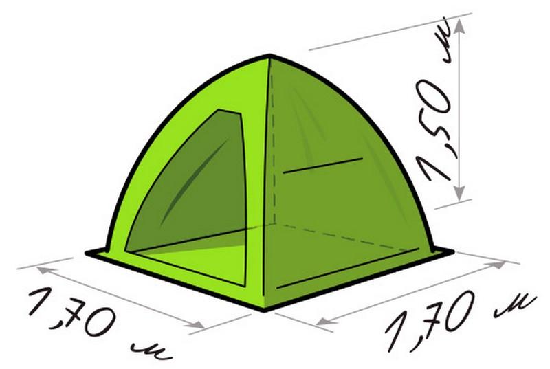 купить палатку для рыбалки лотос 1