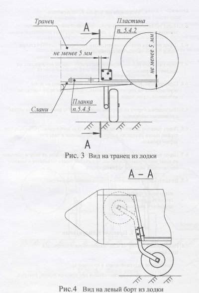 как сделать к лодке транцевые колеса своими руками