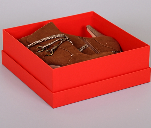 Коробка от обуви для подарка 327