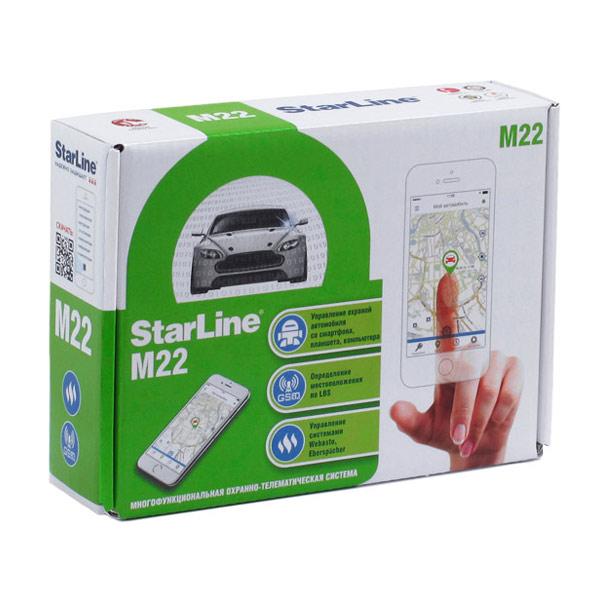 Установка starline m22