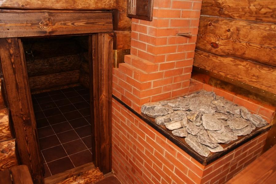 Как построить банную печь из кирпича